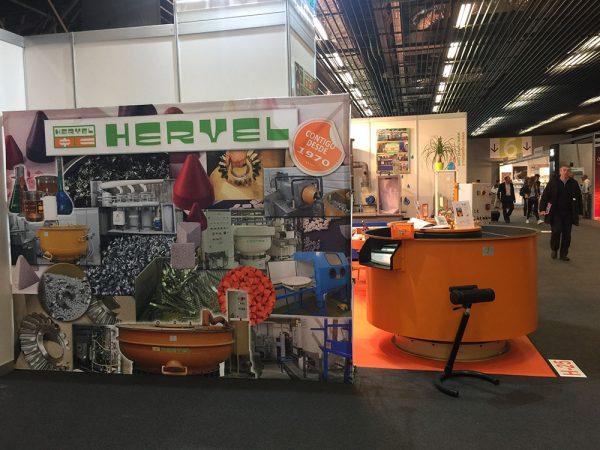 HERVEL ha estado presente en la Bienal más concurrida de los últimos años