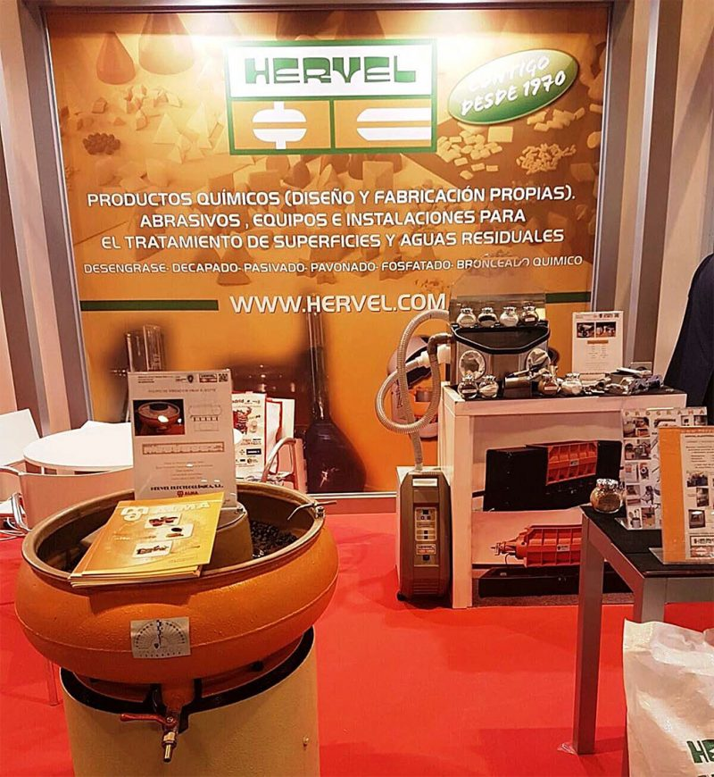 HERVEL ha estado presente en Metalmadrid´16