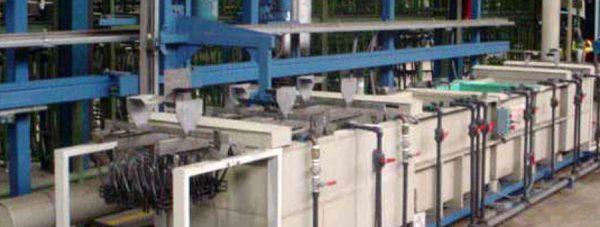 Tratamientos químicos Ppavonado en frío, Oxiblack, equipo instalación automática