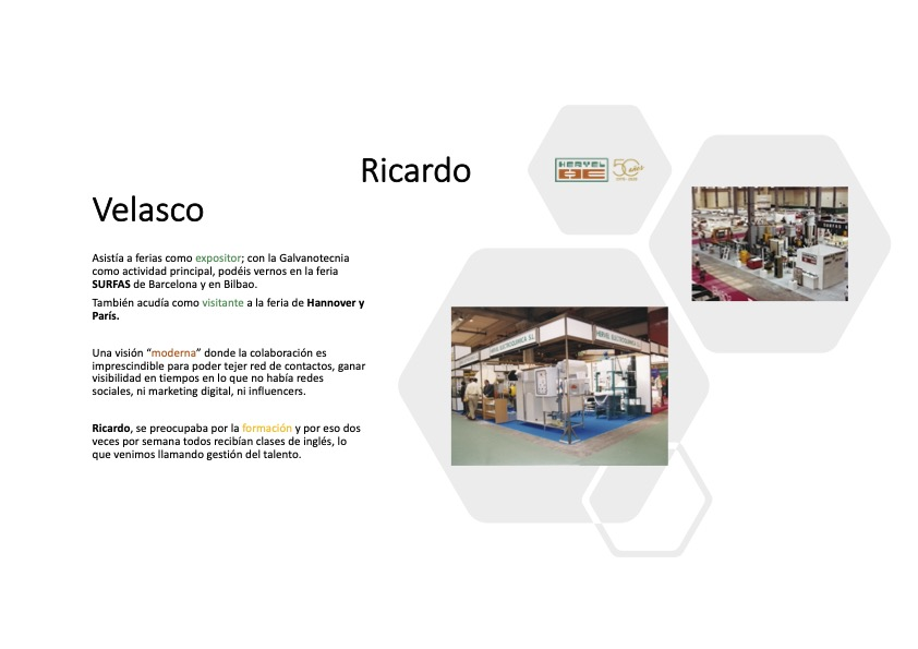RICARDO VELASCO – FUNDADOR DE HERVEL